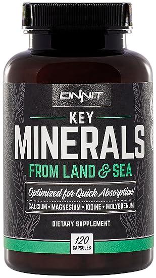 Amazon.com: onnit clave minerales – Magnesio, Calcio ...