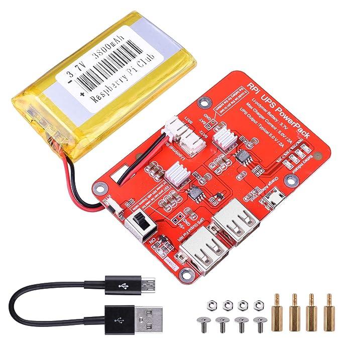 Raspberry Pi Zero UPS Power Board Serial Port Power Detection Function 5.1V±0.1V