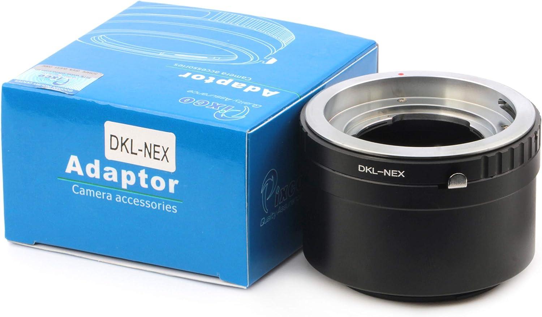 Pixco Lens Adapter for Voigtlander Retina DKL Lens to Sony NEX Adapter A5100 A6000 A5000 NEX-5T NEX-3 NEX-5 NEX-VG30