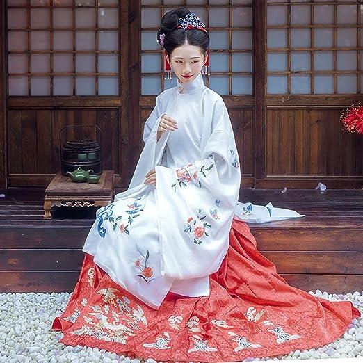 Susulv Vestido Chino Fairy Dress Hanfu Hanfu Falda del Traje ...