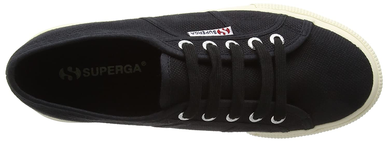 Superga and Damen 2790acotw Linea up and Superga Down Sneaker Schwarz (Schwarz) 02cb70