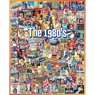 White Mountain Puzzles 1980\'s Jigsaw Puzzle, 100 : Baby Toys : Baby
