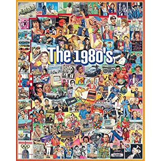 White Mountain Puzzles 1980's Jigsaw Puzzle, 100