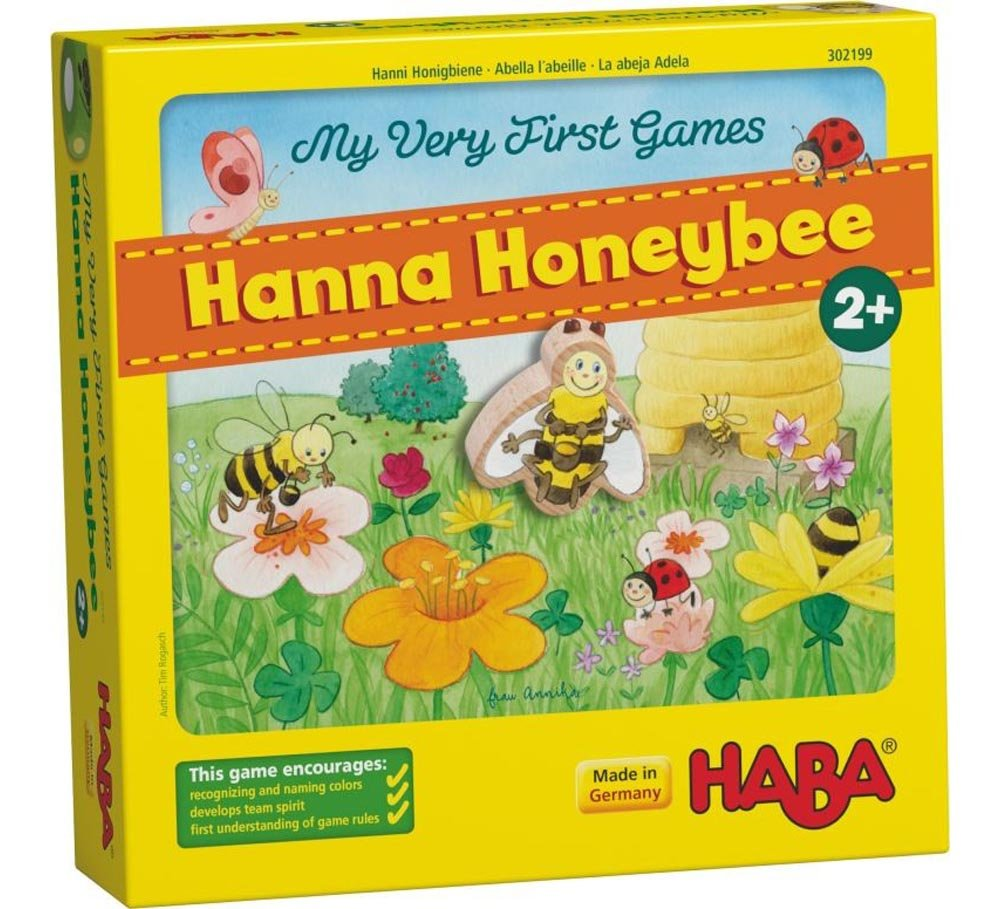 Amazon.com: HABA My Very First Games - Hanna Honeybee Two ...