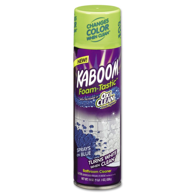 Kaboom Foam-Tastic with OxiClean Fresh Scent Bathroom Cleaner 19 oz (4 Pack)