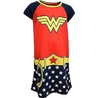 Wonder Woman Girls' Wonder Woman Girls Classic Nightgown with Cape