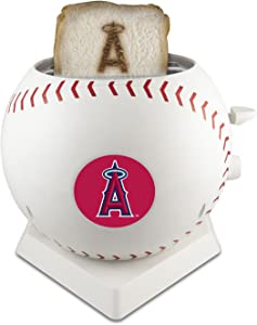 MLB Los Angeles Angels Pangea Brands ProToast MVP Toaster, White