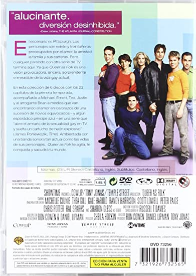 Queer as Folk: Serie Completa [DVD]: Amazon.es: Hal Sparks ...