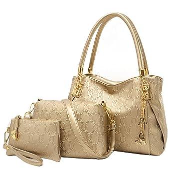e4366ce74f Chinatera Women Handbags Pu Leather Fashion Purse and Handbag Women  Messenger Bags O Bag Handbag+