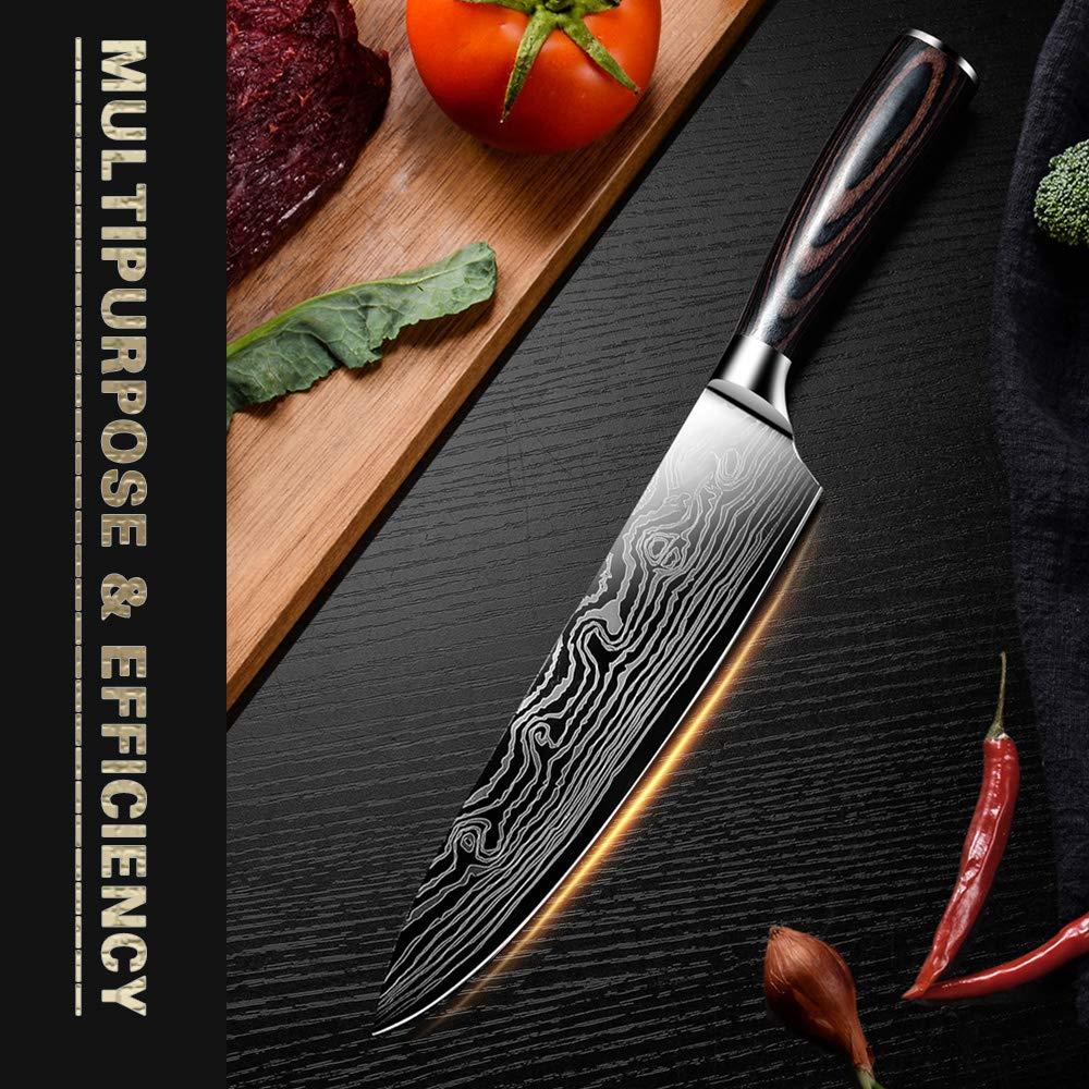Kitchen Knife DABOWEN DANDAO-sfsdhf-01 by AUIIKIY (Image #2)