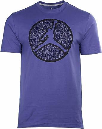 Nike hombre Jordan marca círculos Ele camiseta (2 x -Large ...