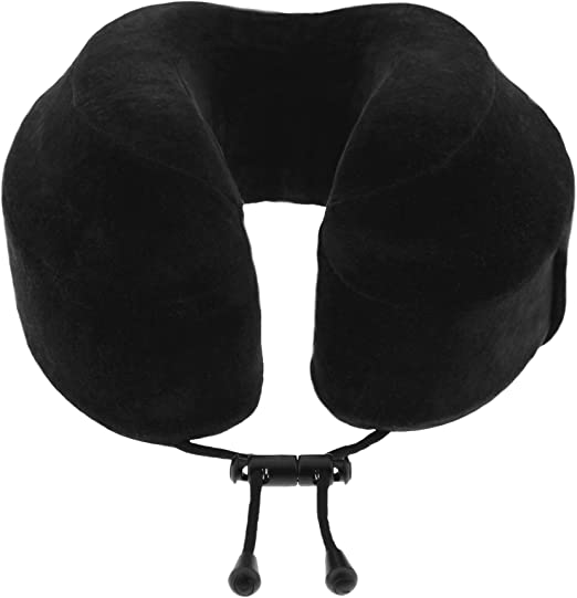 Memory Foam Travel Neck Pillow w// Washable Cover New Cabeau Evolution Classic