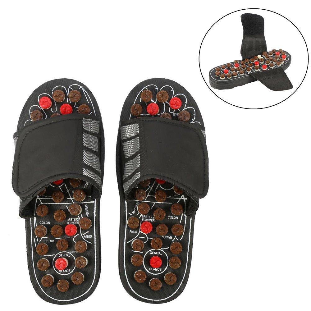 Massage-Schuhe Fußmassagegerät Massage Schuhe mit 41 TAi CHI Massagepunkte Fußreflexzonen Akkupressur für Fußpflege Entspannung für Männer und Frauen(38-39-Tai Chi Diagramme) Sonew