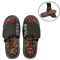 Massage-Schuhe Fußmassagegerät Massage Schuhe mit 41 TAi CHI Massagepunkte Fußreflexzonen Akkupressur für Fußpflege Entspannung für Männer und Frauen(42-43-Tai Chi Diagramme)