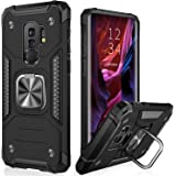 IKAZZ Samsung S9 Plus Case,Galaxy S9 Plus Cover Dual Layer Soft Flexible TPU and Hard PC Anti-Slip Full-Body Rugged Protectiv