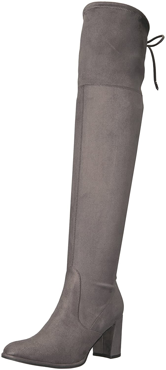 Marc Fisher Women's Lencon Over The Knee Boot B06XW4XMSH 9 B(M) US|Grey