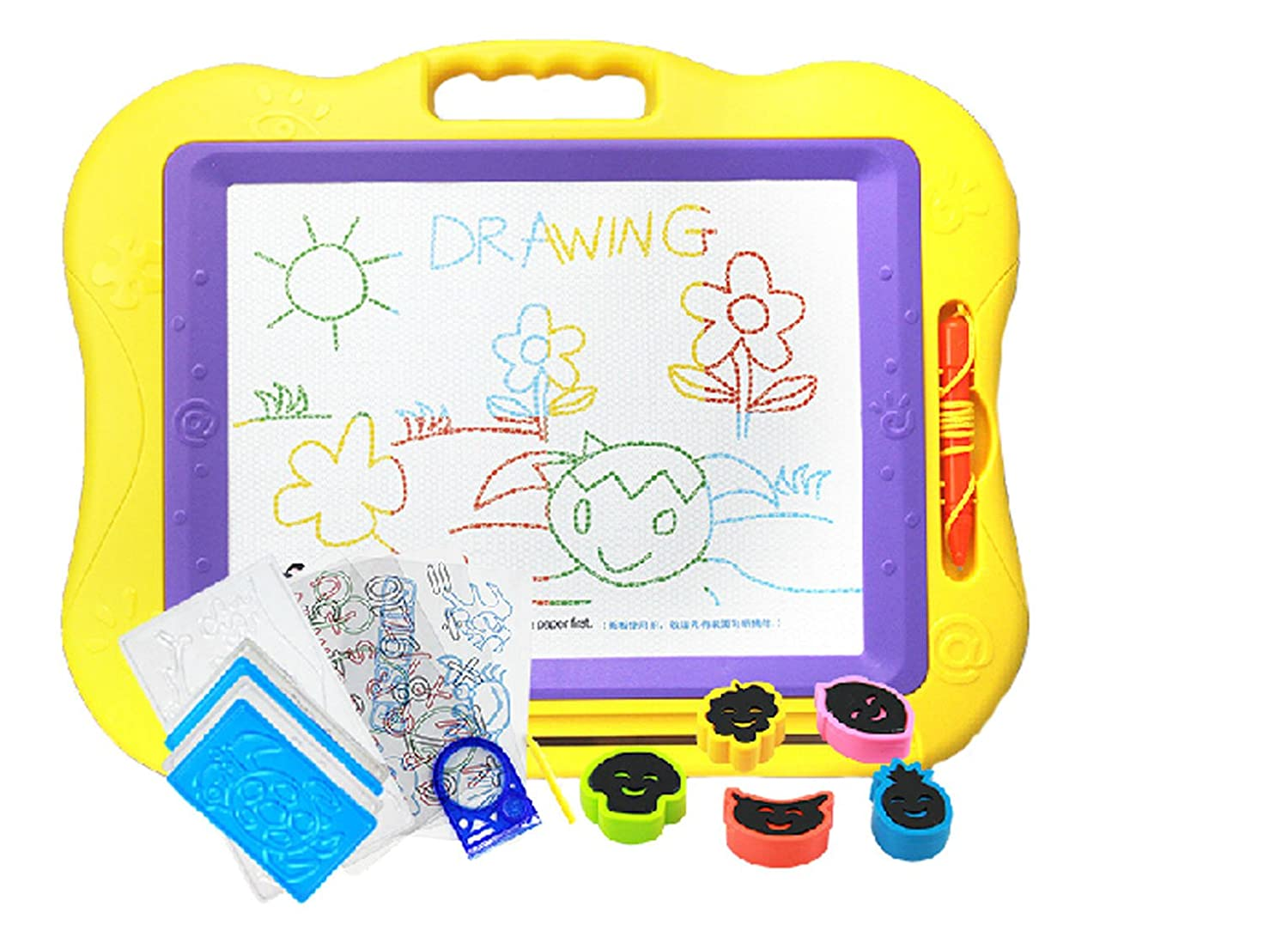 Infants and Young Children Color Magnetic Drawing Board Wordpad ...