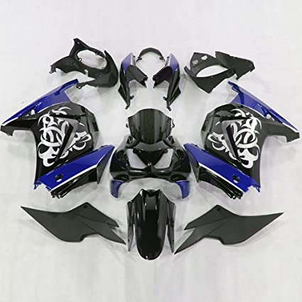 Amazon.com: Moto Onfire Fairing Kits for Kawasaki Ninja 250R ...