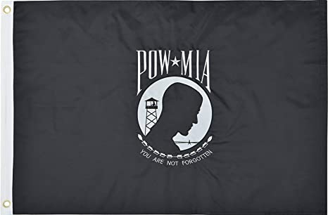 Amazon.com: Pow MIA Bandera 2 x 3 ft 210d Nylon Premium ...