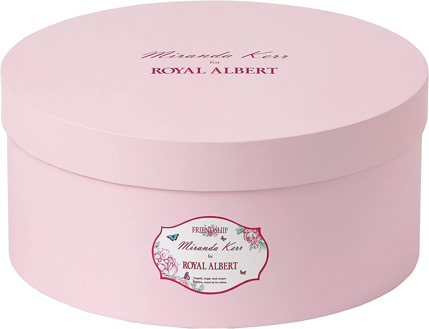 Blanc Royal Albert lamiti/é Miranda Kerr Lot de 3 Porcelaine