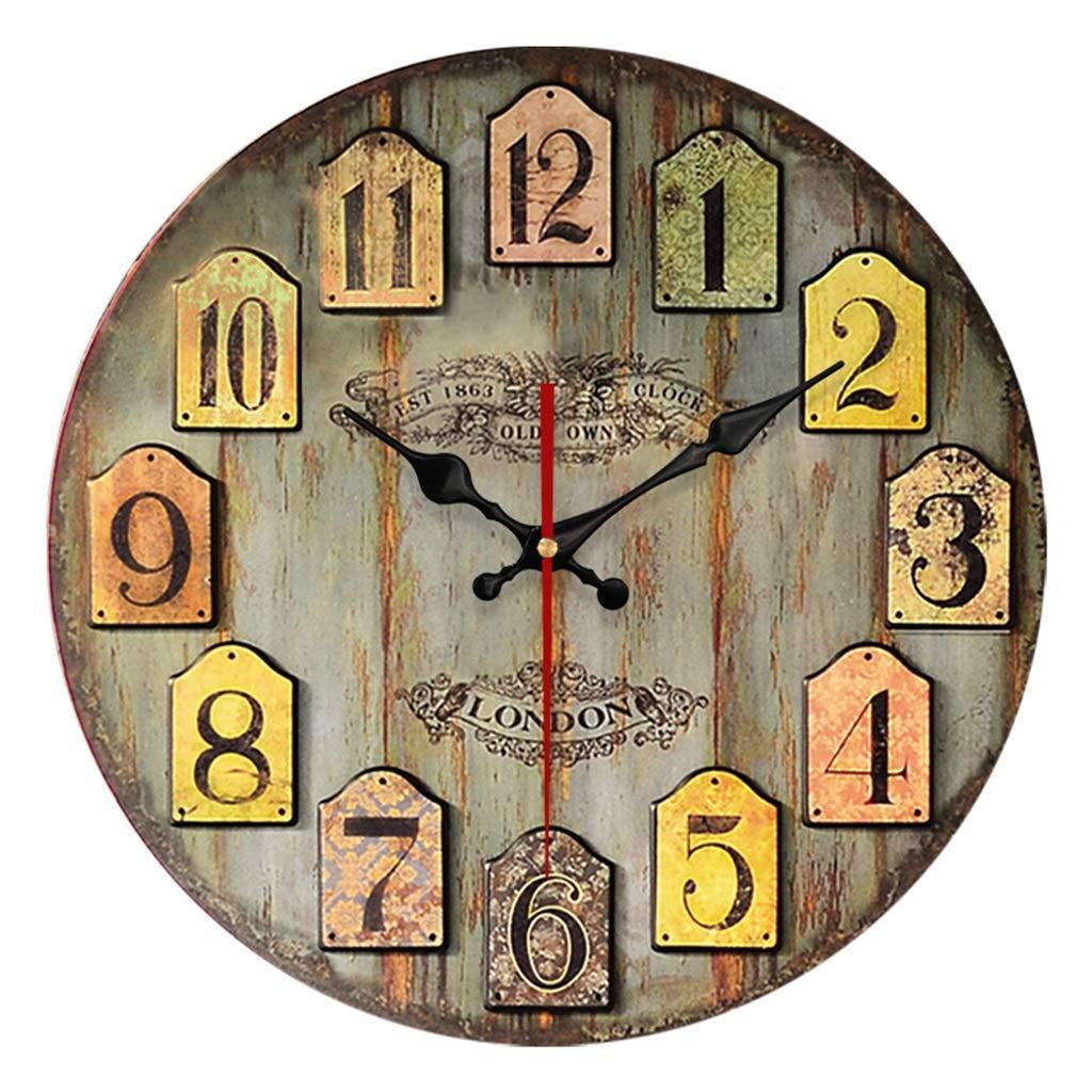 New Horloge Salle De Bain Bois