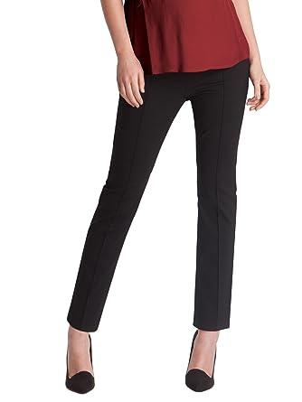 73f9b1e3504c0 Seraphine Carrie Slim Leg Crop Maternity Trousers Black 16 RRP £49 (16):  Amazon.co.uk: Clothing