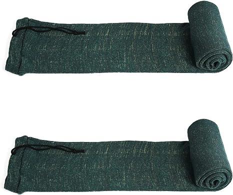 "3 Pack Rifle Gun Sock 54/"" inch Silicone Treated Shotgun Sleeve Cover Protector"
