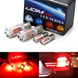 iJDMTOY (2) CANbus Brilliant Red H21W & 7506 LED Replacement Bulbs For 2014-