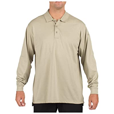 5.11 Tactical #72360 Tactical Polo Long Sleeve Tshirt: Clothing