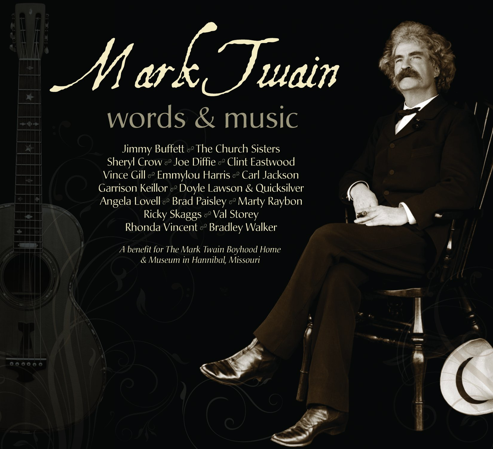 Mark Twain Words and Music by Mailboat Records