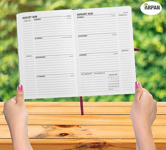 Agenda escolar 2019-2020 vista semanal A5 organizador ...