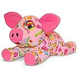 Melissa & Doug Becky Pig - Patterned Pal Stuffed Animal