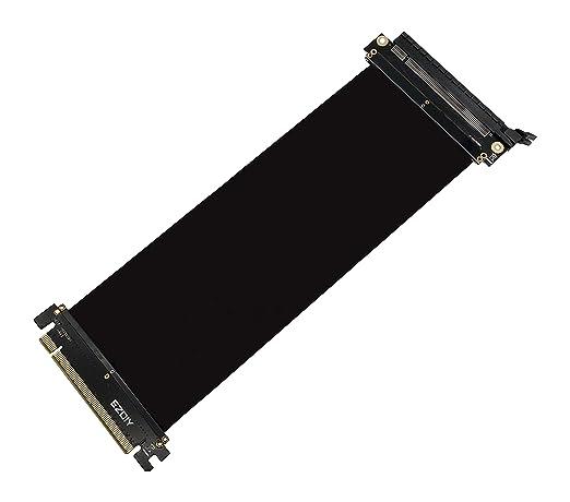 EZDIY-FAB All New PCI Express 16x Flexibles Kabel Karten Verlängerung Port Adapter High Speed Riser Card-25cm