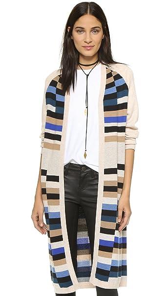 Amazon.com: Mara Hofmann largas chaqueta de punto de la ...