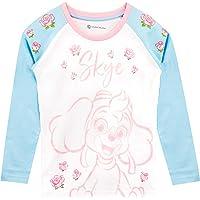Paw Patrol Camiseta de Manga Larga para niñas La Patrulla Canina