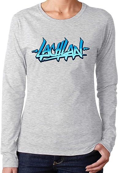 Lachlan - Camisetas de manga larga para mujer, algodón ...