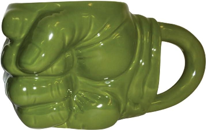 Marvel Avengers Incredible Hulk Fist Large Green Ceramic Coffee Mug 16oz In Box