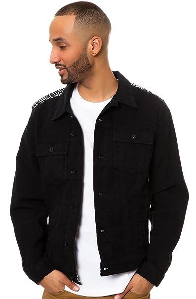 RockSmith Freetown Moleskin Jacket S Black: Amazon co uk
