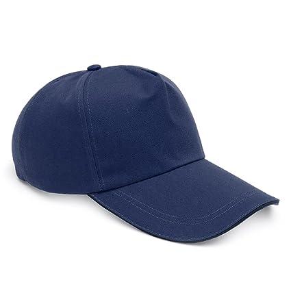 MASUNN Bump Cap Béisbol Estilo Casco Duro Seguridad Cabeza Protección Cascos Ligeros - Azul Púrpura