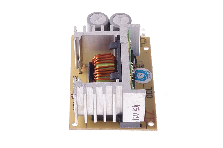 SMAKN DC-DC 60W Car Power Modules 15-50V to 12V 5A Step-Down Power Supply Module
