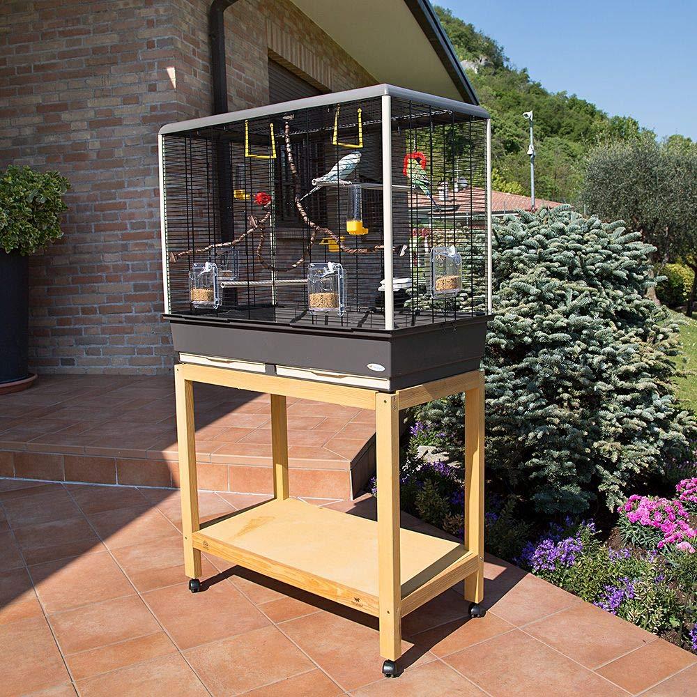 Ferplast Amplia Jaula para Canarios, periquitos y pequeños pájaros ...