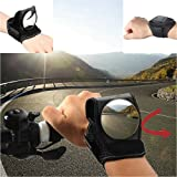 Bike Mirror Adjustable Bicycle Equipment Cycling Arm Wear / Wristband Safe Back Rear View Mirror