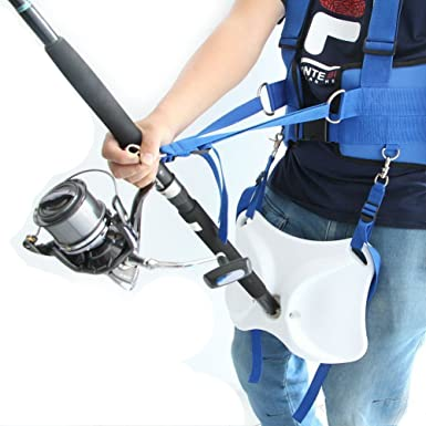 #30550 Med Braid Fighting Harness//Offshore Tackle Big Game Fishing MRSP $130