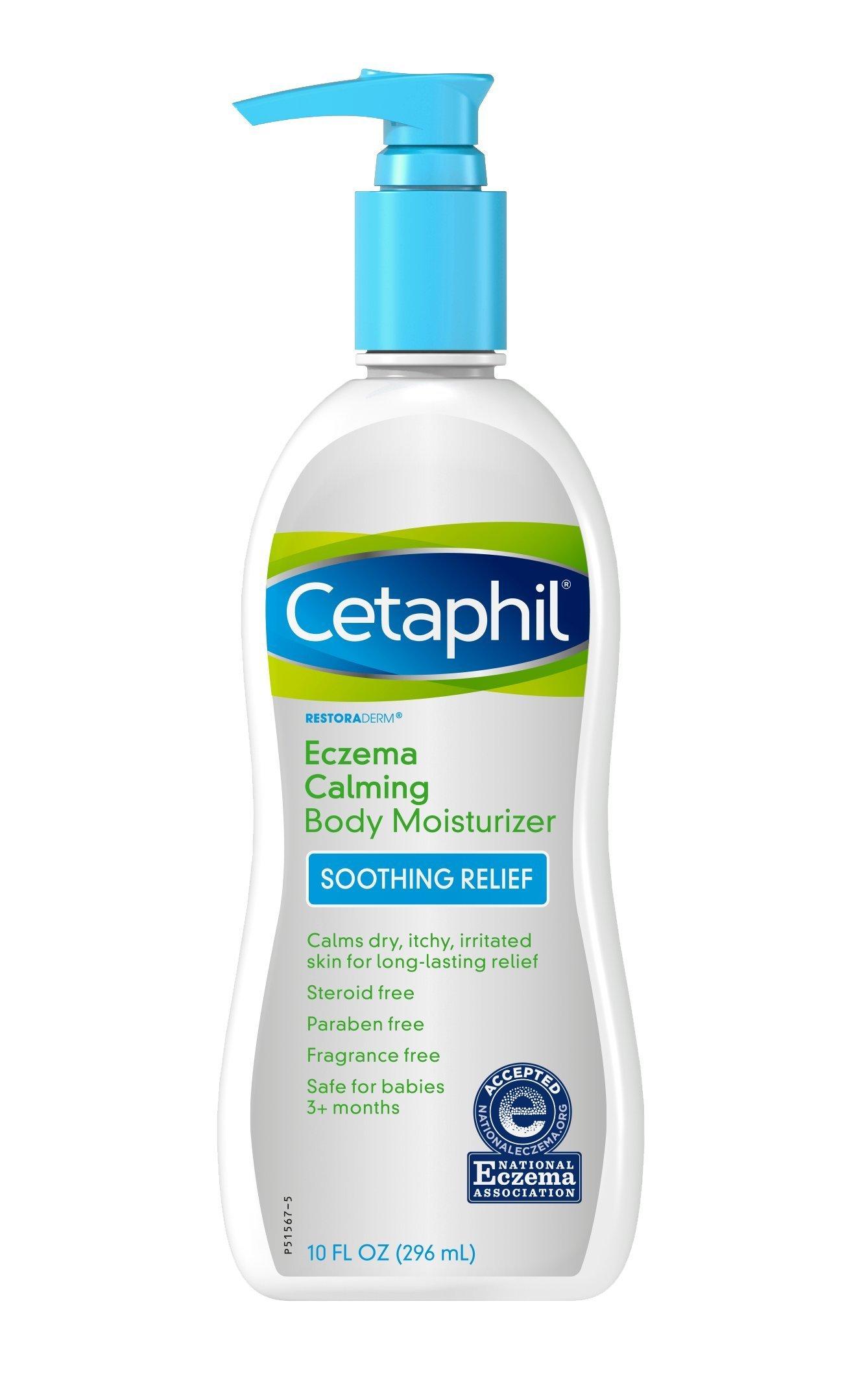 Amazon Com Cetaphil Restoraderm Eczema Calming Body Wash 10 Ounce Bath And