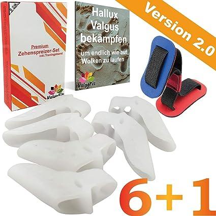 ValgoFit® [6x] Corrector Juanete - Kit de alivio de juanetes para tratar el