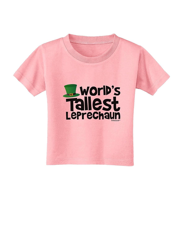 TooLoud Worlds Tallest Leprechaun Toddler T-Shirt