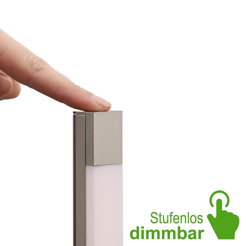Briloner Leuchten Led Stehleuchte Stehlampe Stufenlos Dimmbar 1200