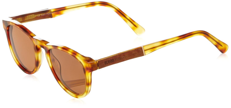 Ocean Eye Gafas de Sol, Marrón (Havana), 45 Unisex Adulto