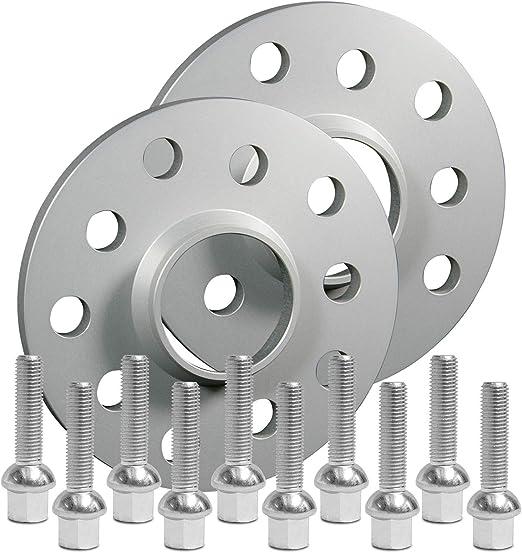 Silverline Spurverbreiterung 20mm 10mm Rad Mit Schrauben Silber 5x112 66 6mm 12168e 9 M1215ku50z Auto