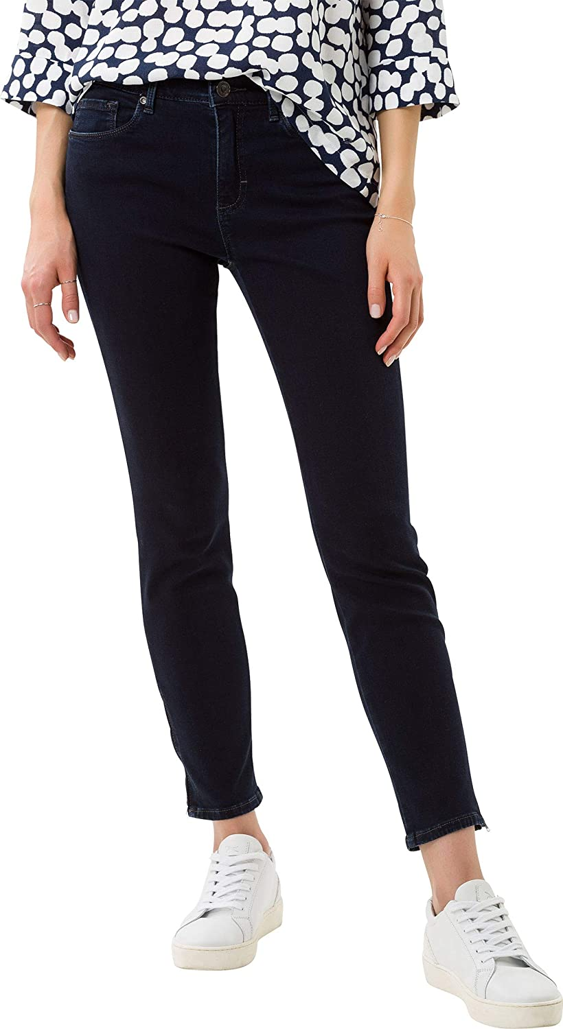 BRAX Women's Shakira S Free to Move Five Pocket Skinny Sportiv Jeans Clean Dark Blue
